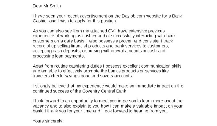 cover letter for usps job application letter for job cashier ...
