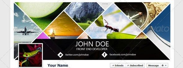 40 Premium Facebook Timeline Cover Photo Templates | Inspirationfeed