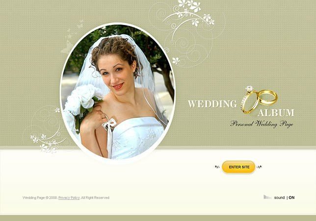 Download wedding full flash web templates