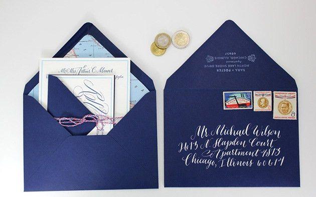 Ways To Address Wedding Invitations | Invitation Ideas