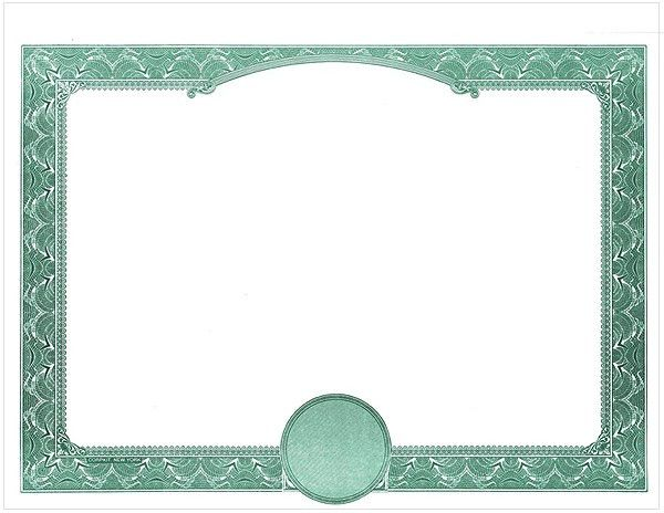 teal-certificate-border-template