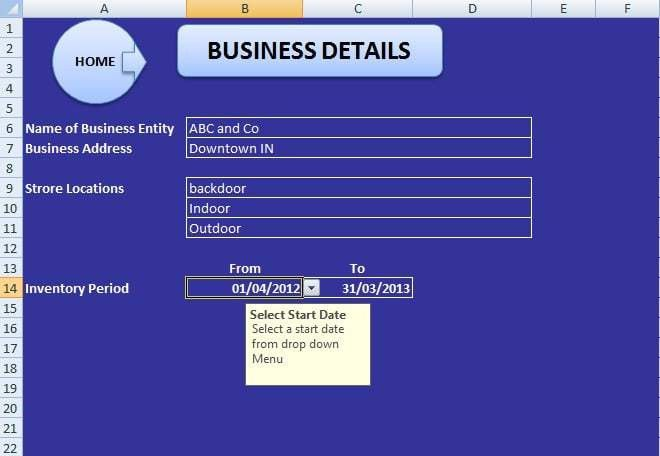 ABCAUS Excel Inventory Template and Tracker - Download