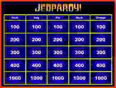 powerpoint jeopardy template | Sponsorship letter