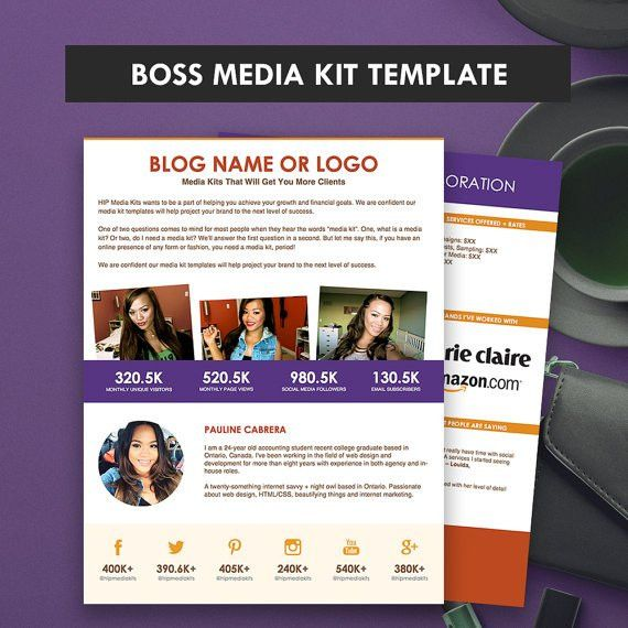 ad rate sheet template