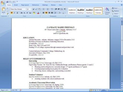 we found 70 images in how do i make a resume gallery. how to ...