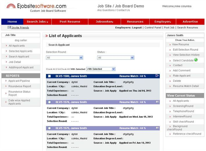 Screenshots - Job Board Software with Mobile Apps & ATS