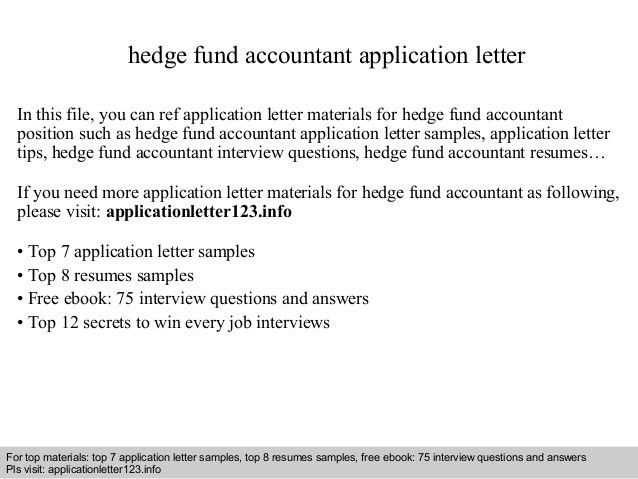 fund accountant sample resume apple mechanical engineer cover ...