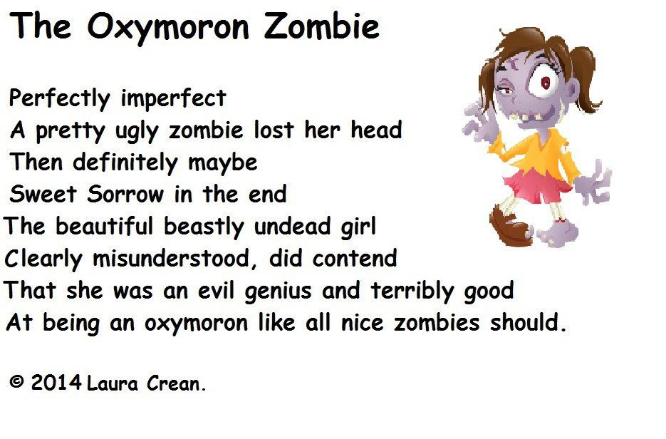 For our better writing 9. oxymoron