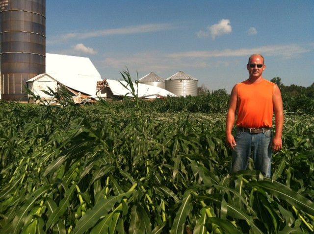 Wind takes its toll on Ohio corn | Ohio Ag Net | Ohio's Country ...