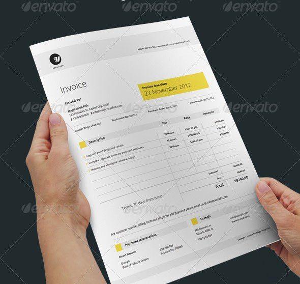 20 Creative Invoice & Proposal Template Designs   Proposal ...