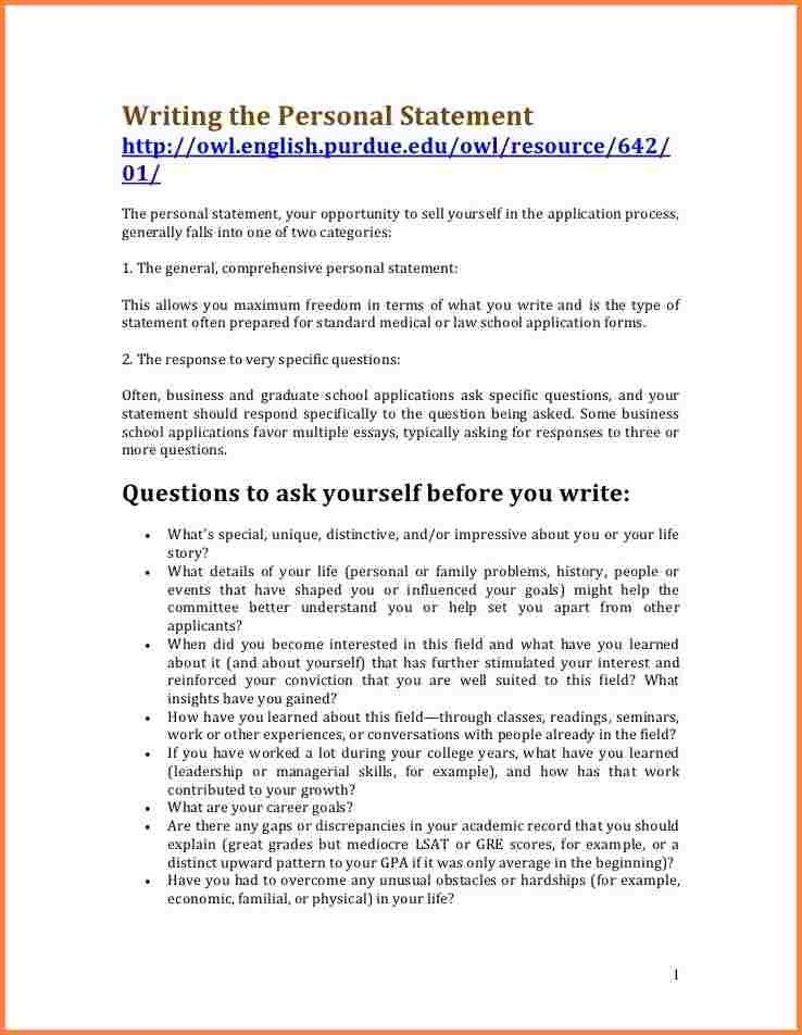8+ what to put in a personal statement | Bank statement