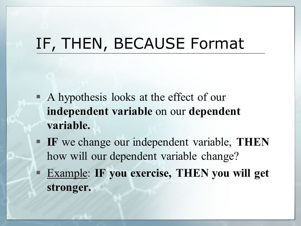 Writing a Good Hypothesis - ppt video online download
