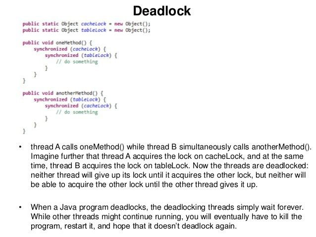 Java threading
