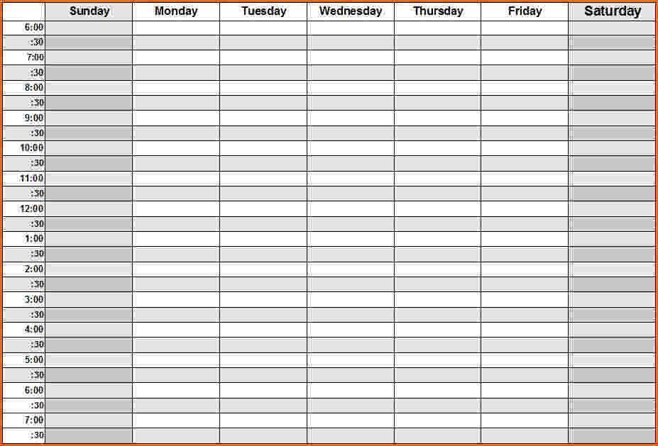 Daily Calendar   monthly calendar template