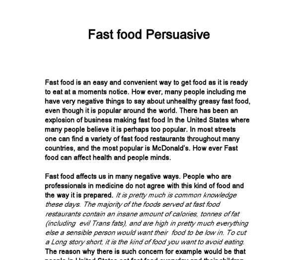 essay on healthy eating habits persuasive speech on unhealthy ...