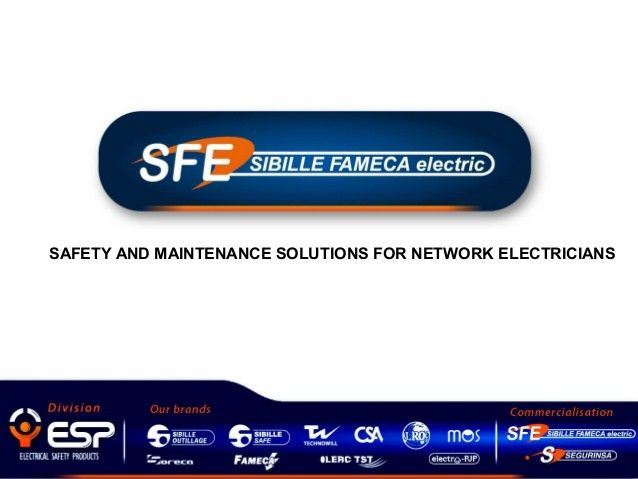 Electrical Safety Equipments PPE Low voltage presentation SFE in UAE