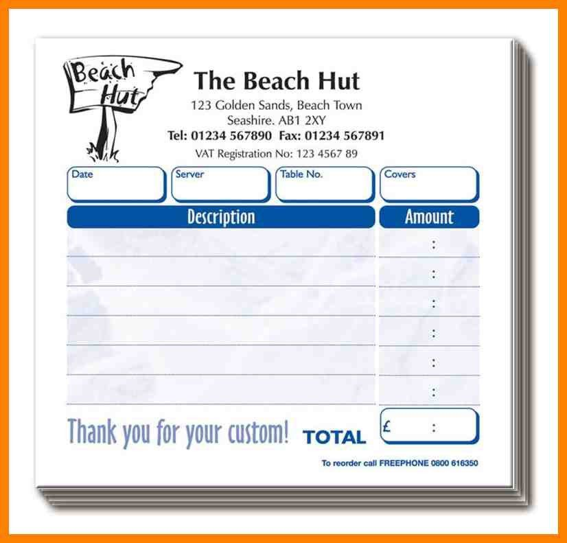 10+ restaurant invoice template word | day care receipts