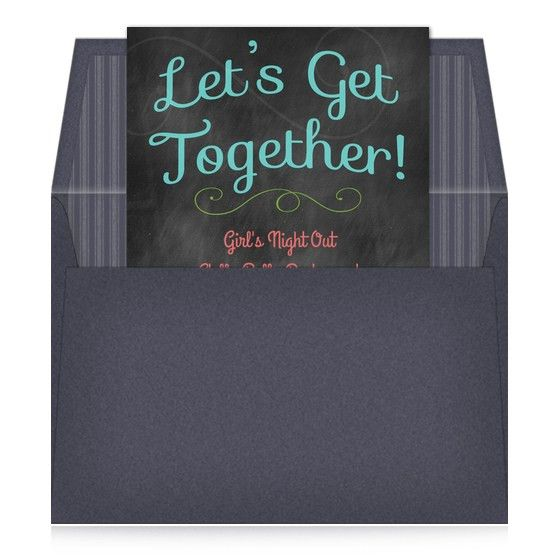 Let's Get Together, Invitations & Cards on Pingg.com