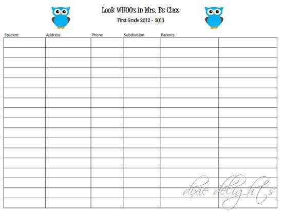 School Sign Out Sheet. Classroom Sign Out Sheet 3 Ways To Get ...
