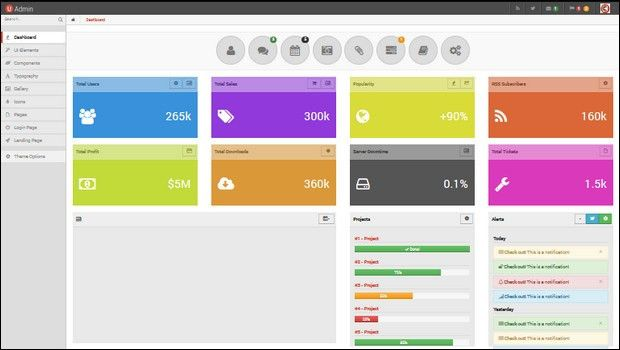 25+ Authoritative Admin Panel Templates -