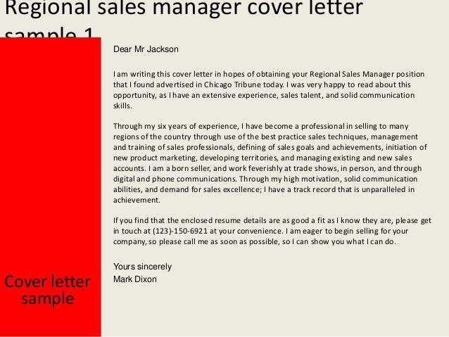 Trend Sample Cover Letter For Sales Manager Position 78 For Cover ...