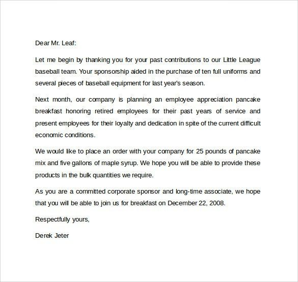Formal Letter Format - 12+ Free Samples, Examples & Formats