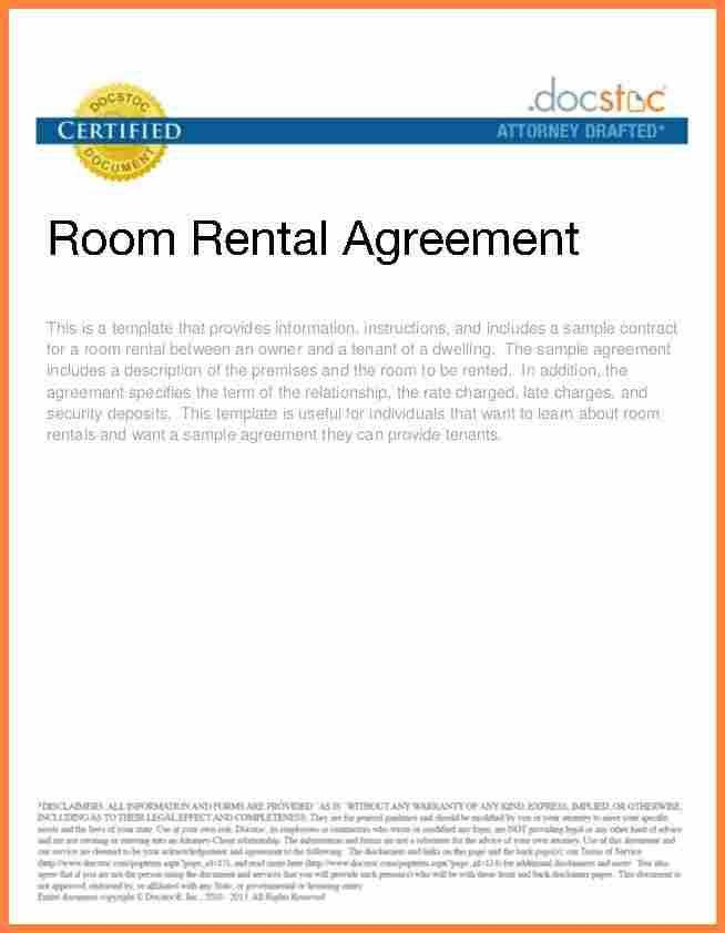 Format Of Rental Agreement [Nfgaccountability.com ]
