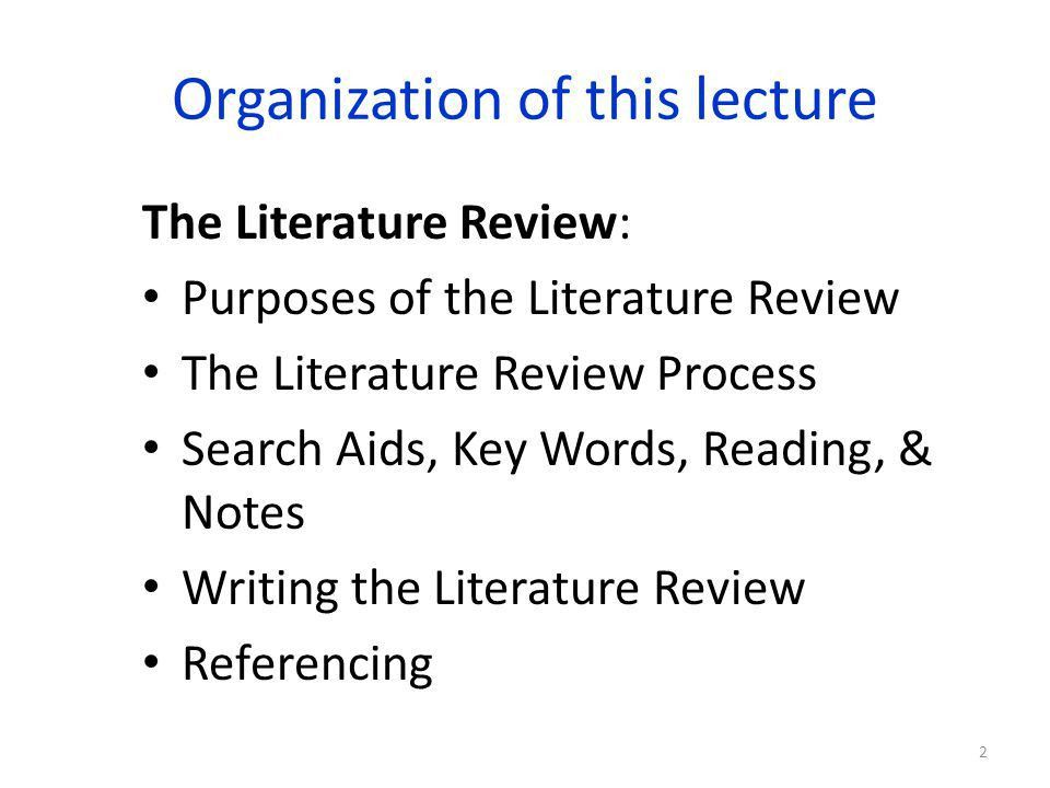 Apa format literature review example | Saidel Group
