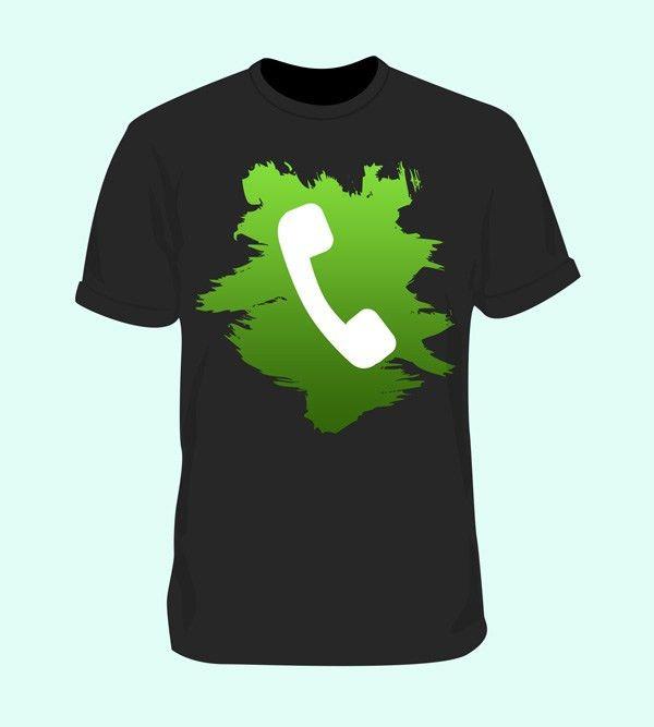Blank T-Shirt Mockup Template (PSD) - GraphicsFuel