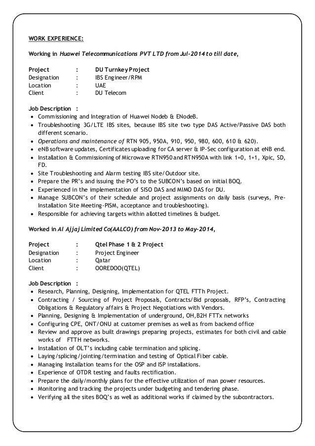Veera Ranjith Kumar-CV(9 Yrs Exp in Telecom Field)