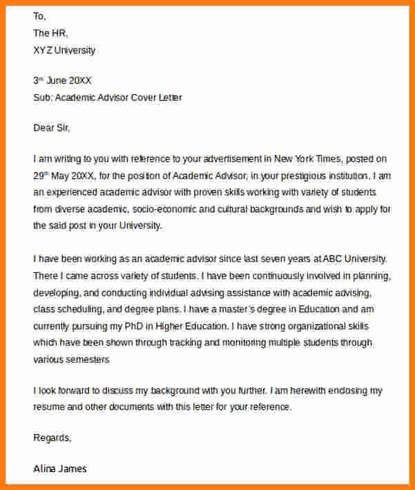 6+ letter academic advisor | ledger paper