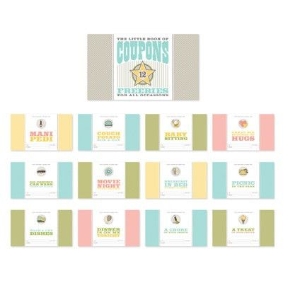 Adorable Coupon Book! - Stamping With Kristen