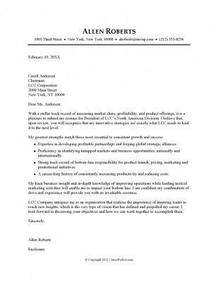 Best Cover Letters. Cover Letter Best Example Of Resume And Cover ...