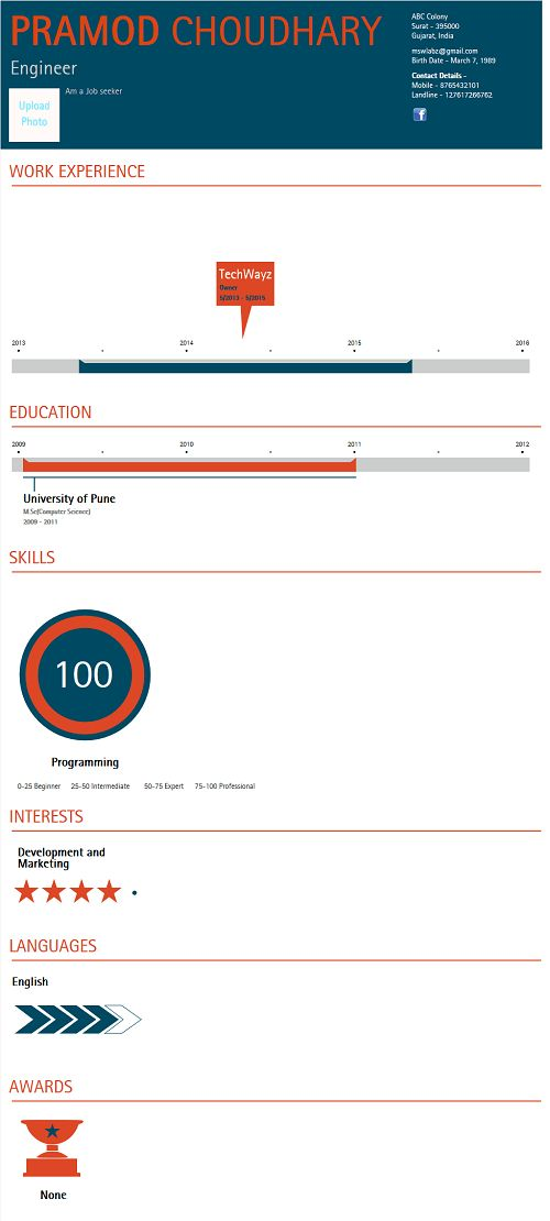 Top 7 Best infographic resume builder (2017)