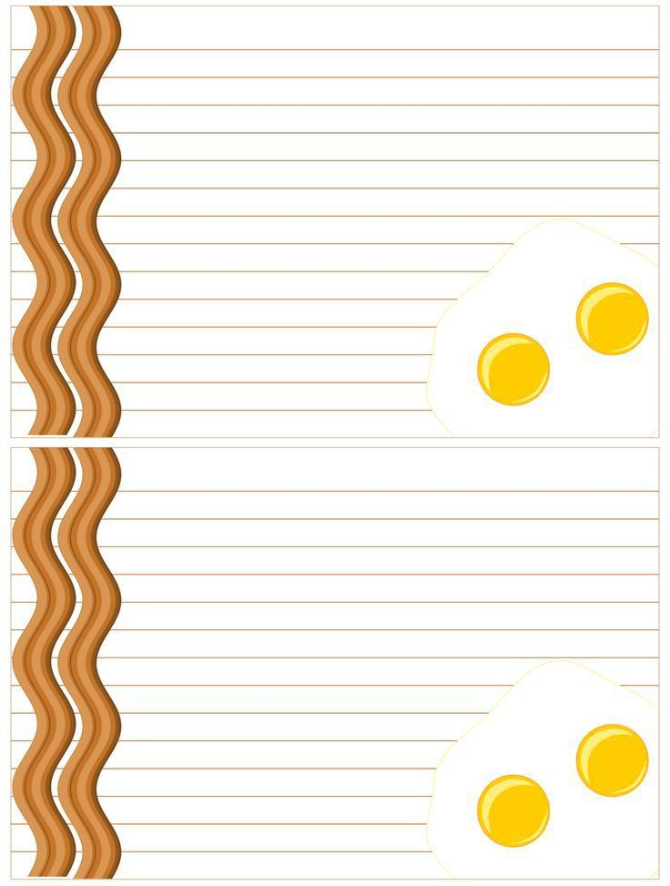 479 best Scrapbook Free Printable Recipe Cards images on Pinterest ...