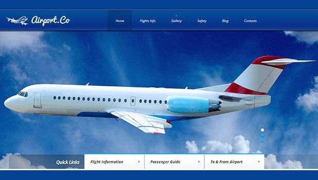 25 Best Wordpress Templates for Airlines | WP Template