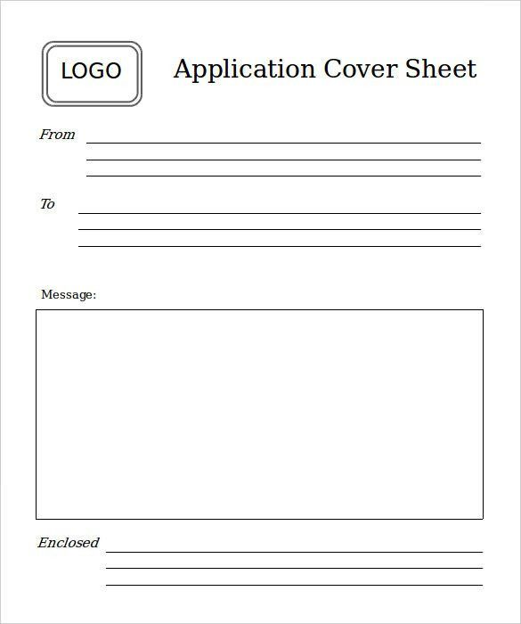 10+ Basic Fax Cover Sheet Templates – Free Sample, Example Format ...