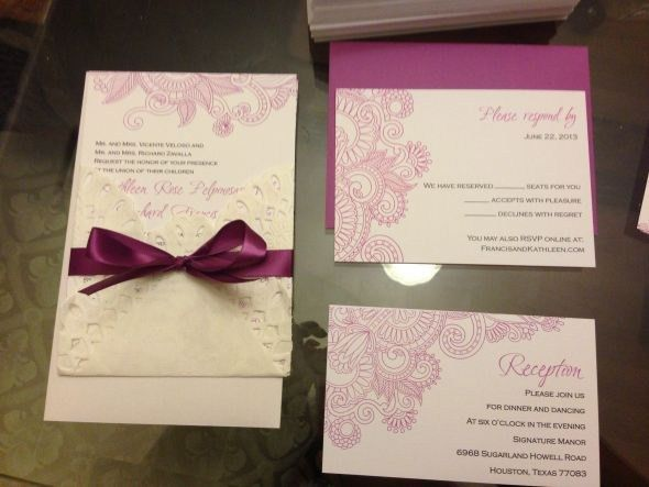 The most viral collection of Vista Print Wedding Invitations ...