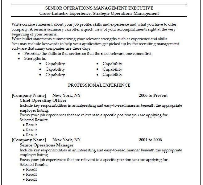 Splendid Copy And Paste Resume Templates 5 Free 40 Top ...
