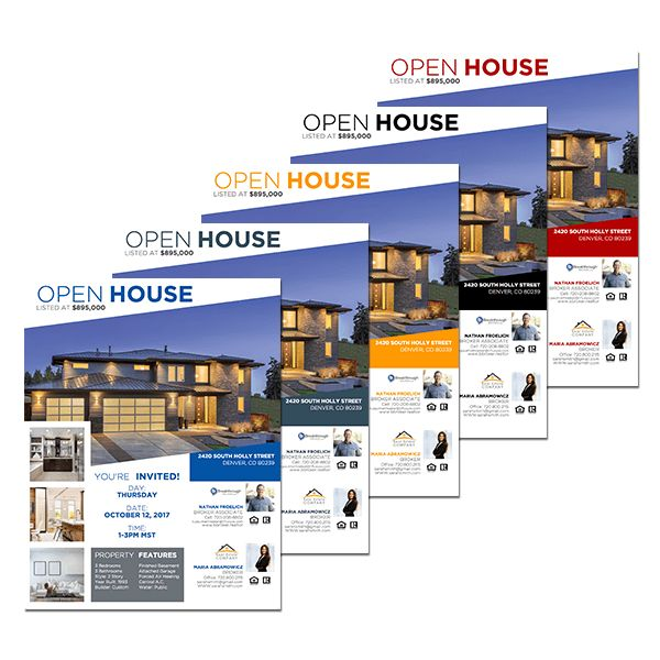 Geo Series Team Open House Flyer