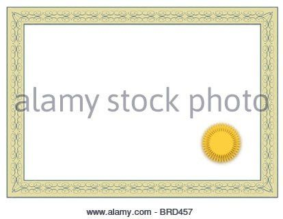 A stylized blank diploma. All on white background Stock Photo ...