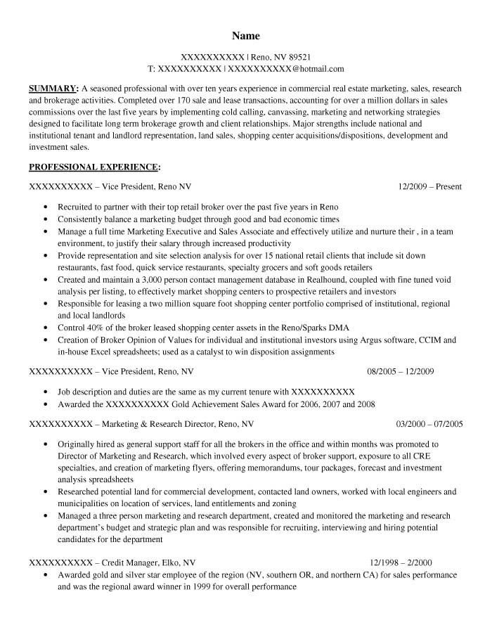 Download Real Estate Manager Resume | haadyaooverbayresort.com