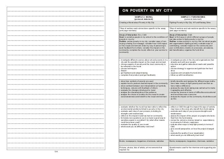 Personal Project Student Guide And Process Journal