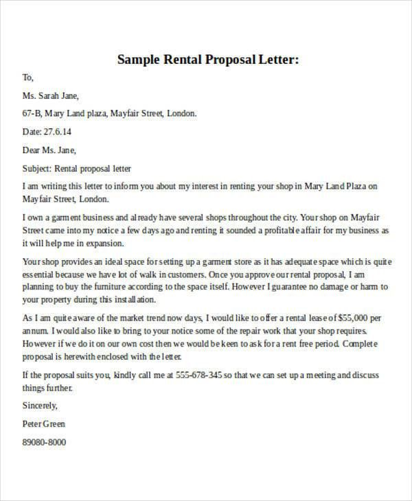 28+ Business Proposal Letter in Word