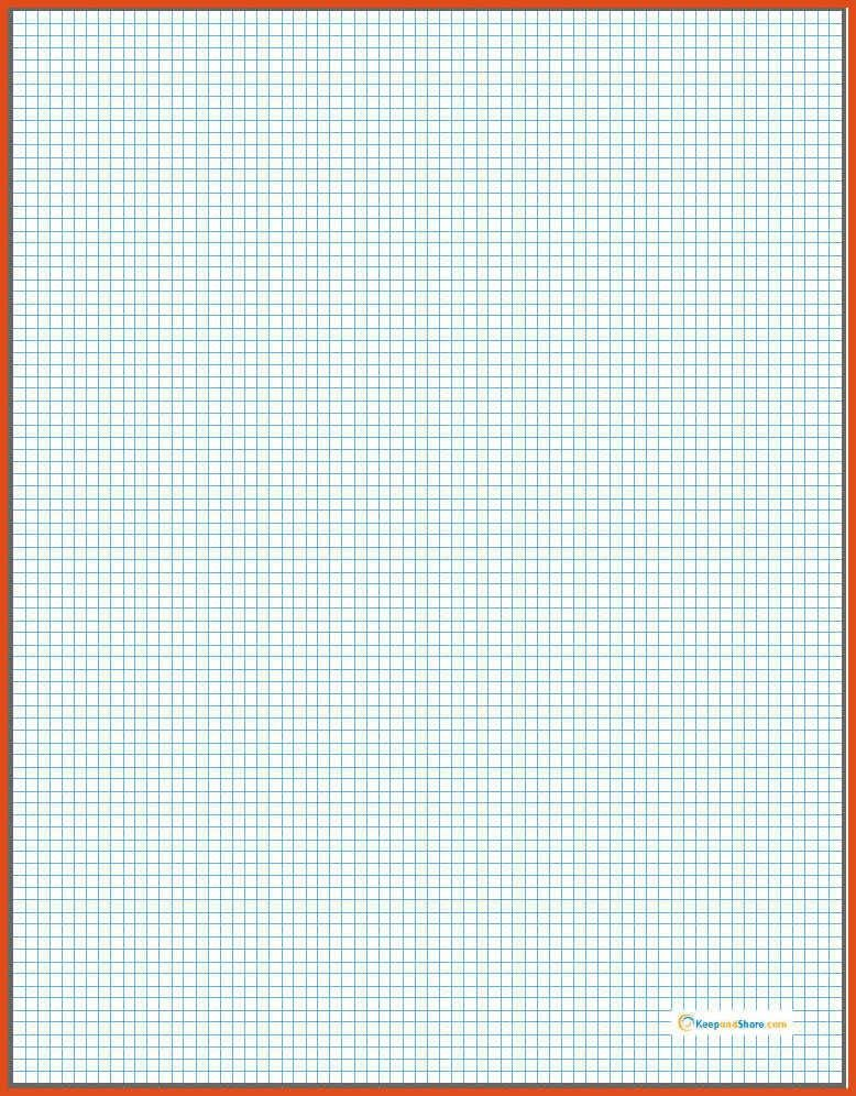 graph paper template word | moa format