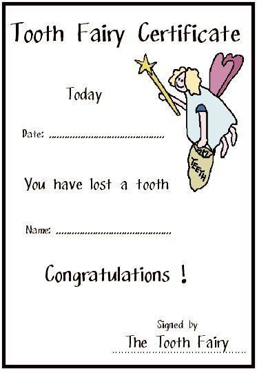 Best 25+ Tooth fairy certificate ideas on Pinterest | Tooth fairy ...