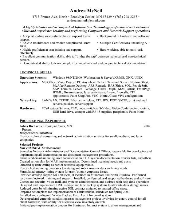 help desk resume sample jennywasherecom - Help Desk Resume Sample