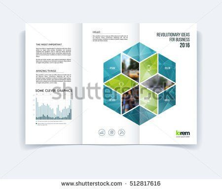 Free Tri Fold Brochure Vector Template - Download Free Vector Art ...