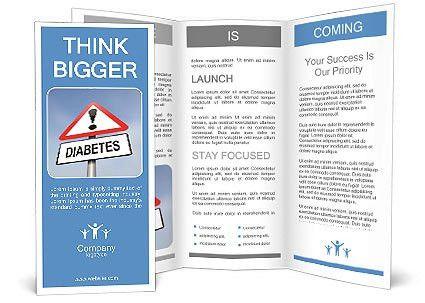 Diabetes is dangerous Brochure Template & Design ID 0000010637 ...