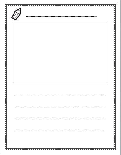 Best Photos of Blank Lined Writing Paper Template - Free Lined ...